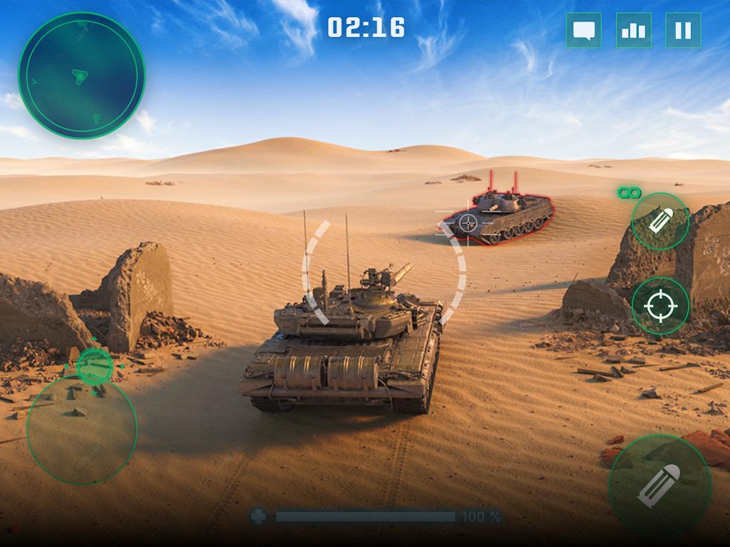 War Machines: Бесплатные Oнлайн Игры про Танки screenshot