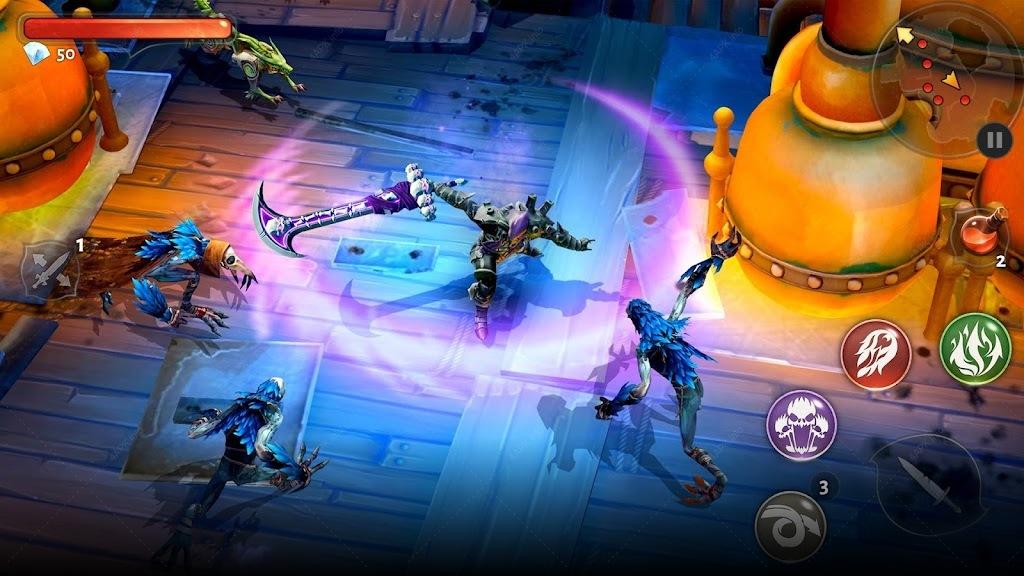 Dungeon Hunter 5 — Экшен РПГ screenshot