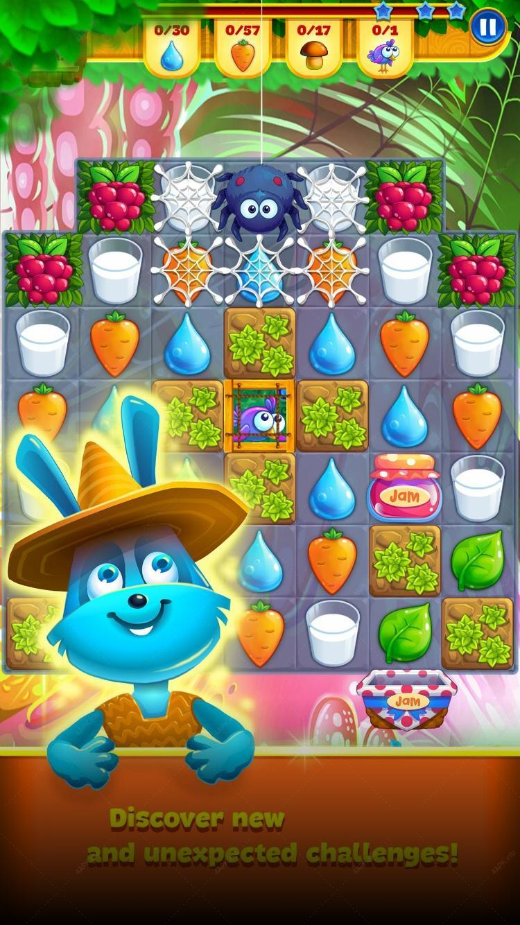 Farm Charm - Match 3 Blast King Games screenshot