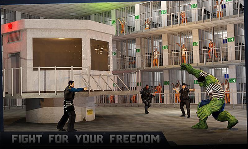 Невероятный монстр-герой: Супер-тюрьма screenshot