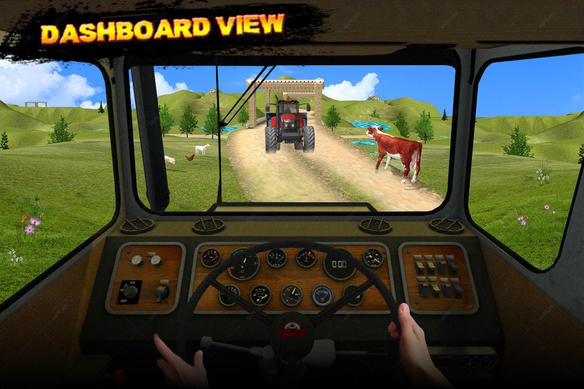 Игра трактор водитель тренажер: трактор вождение игры v. 2. 0 apk.