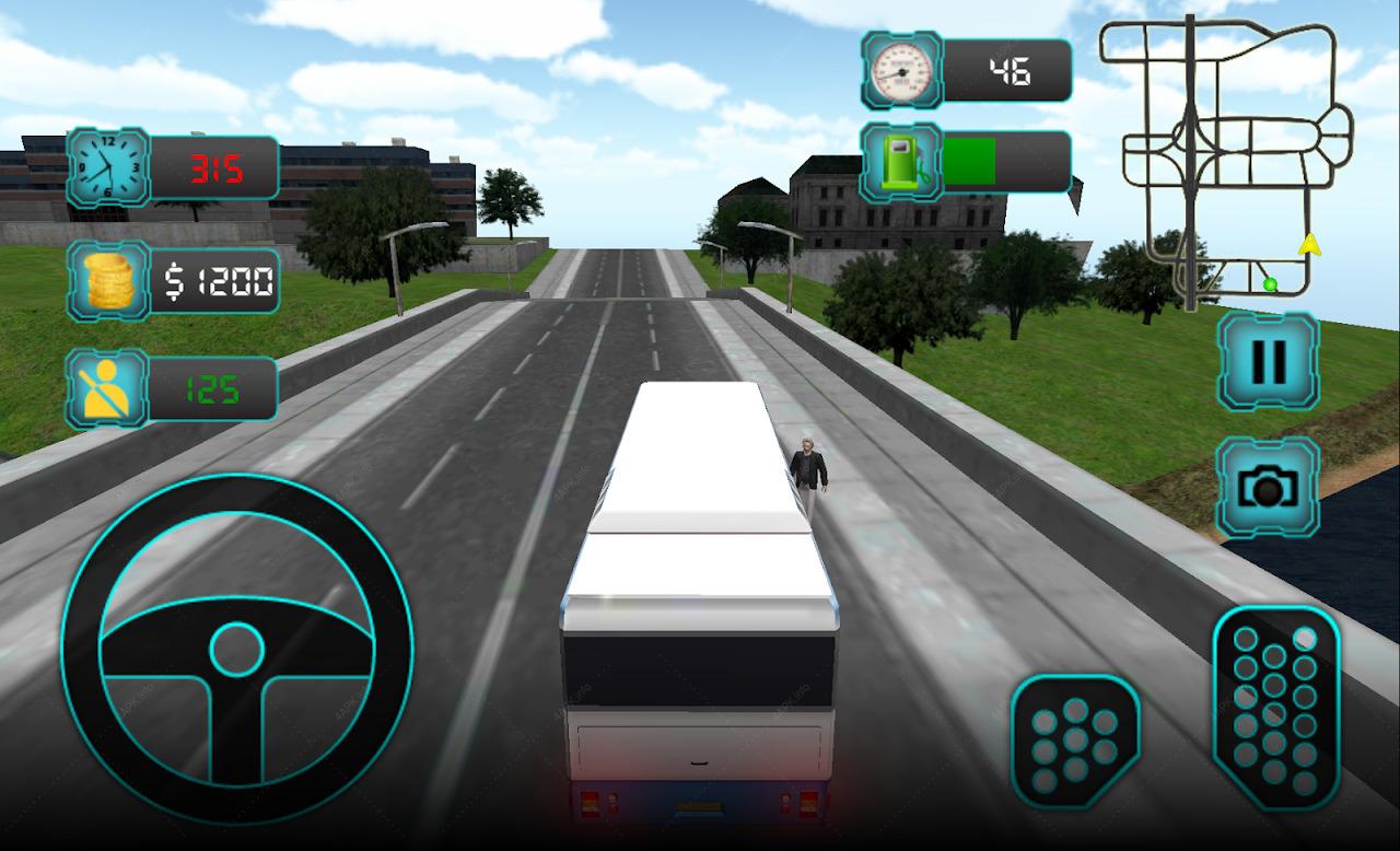 Нью-Йорк автобус симулятор screenshot