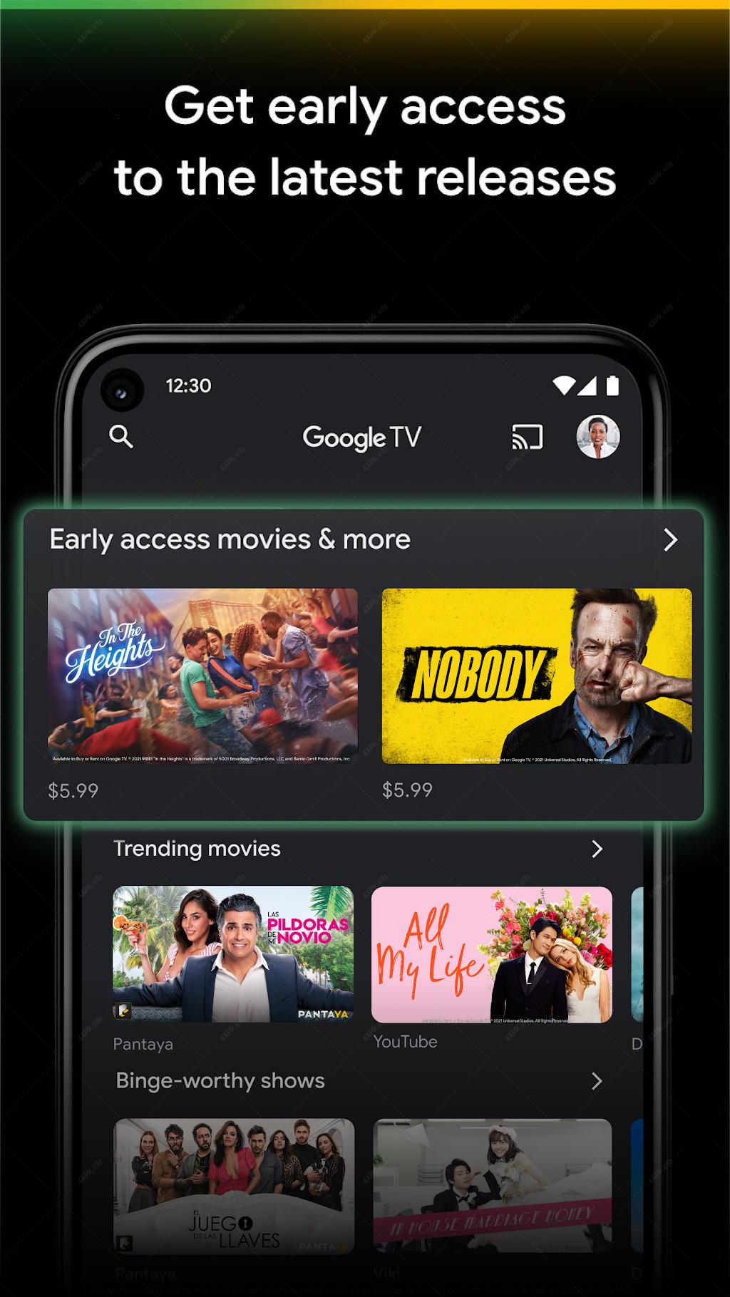 Google Play Фильмы screenshot