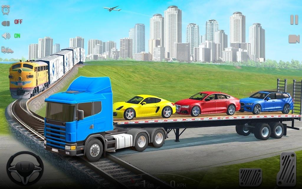 игры машина транспортер с машинами