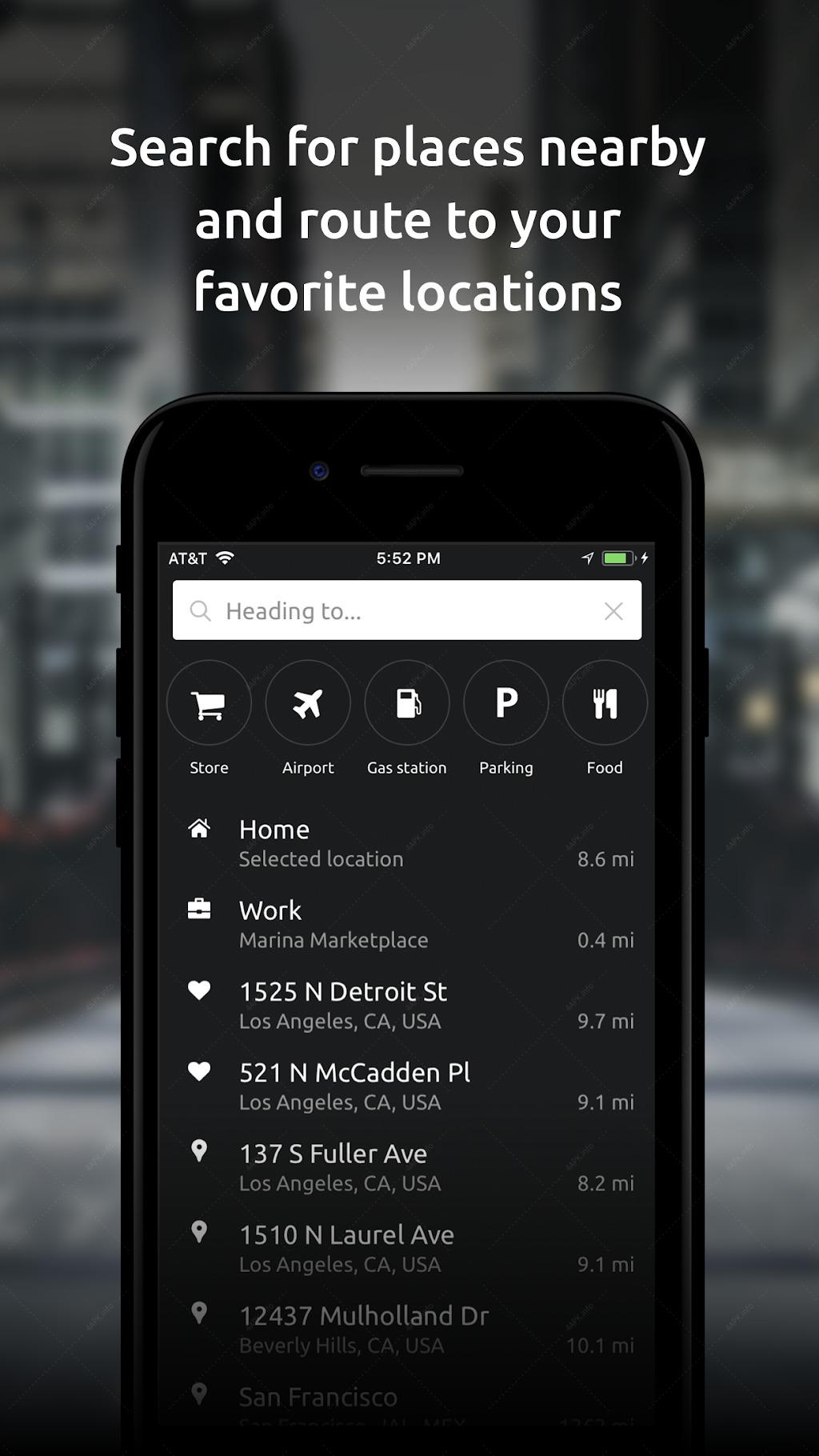 HUDWAY Go — навигация с HUD-режимом screenshot