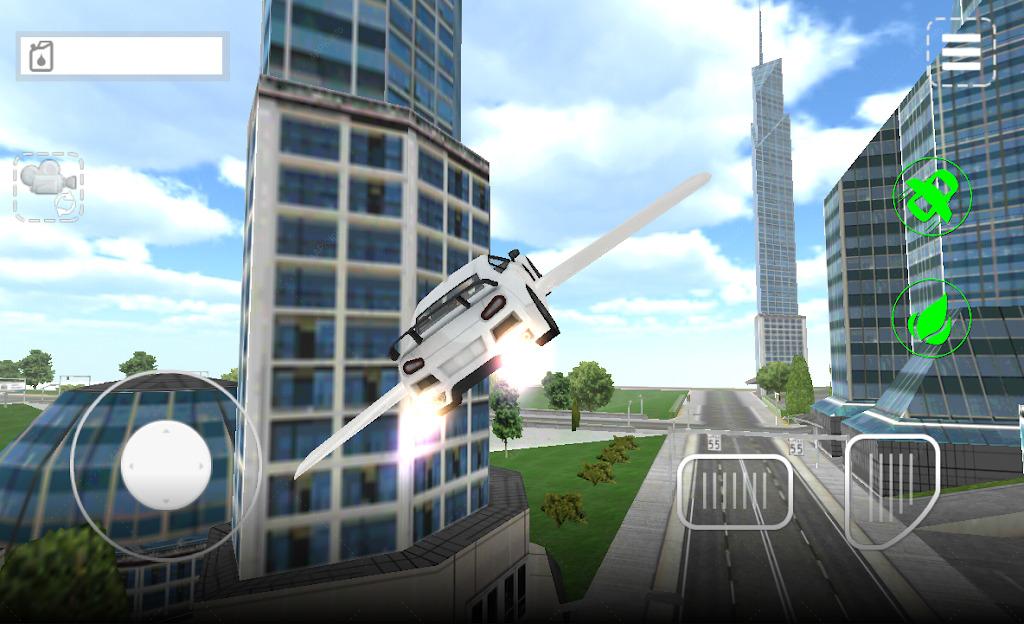 летающая машина screenshot