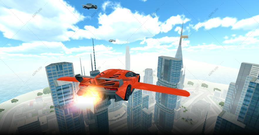 Летающая машина 3D screenshot