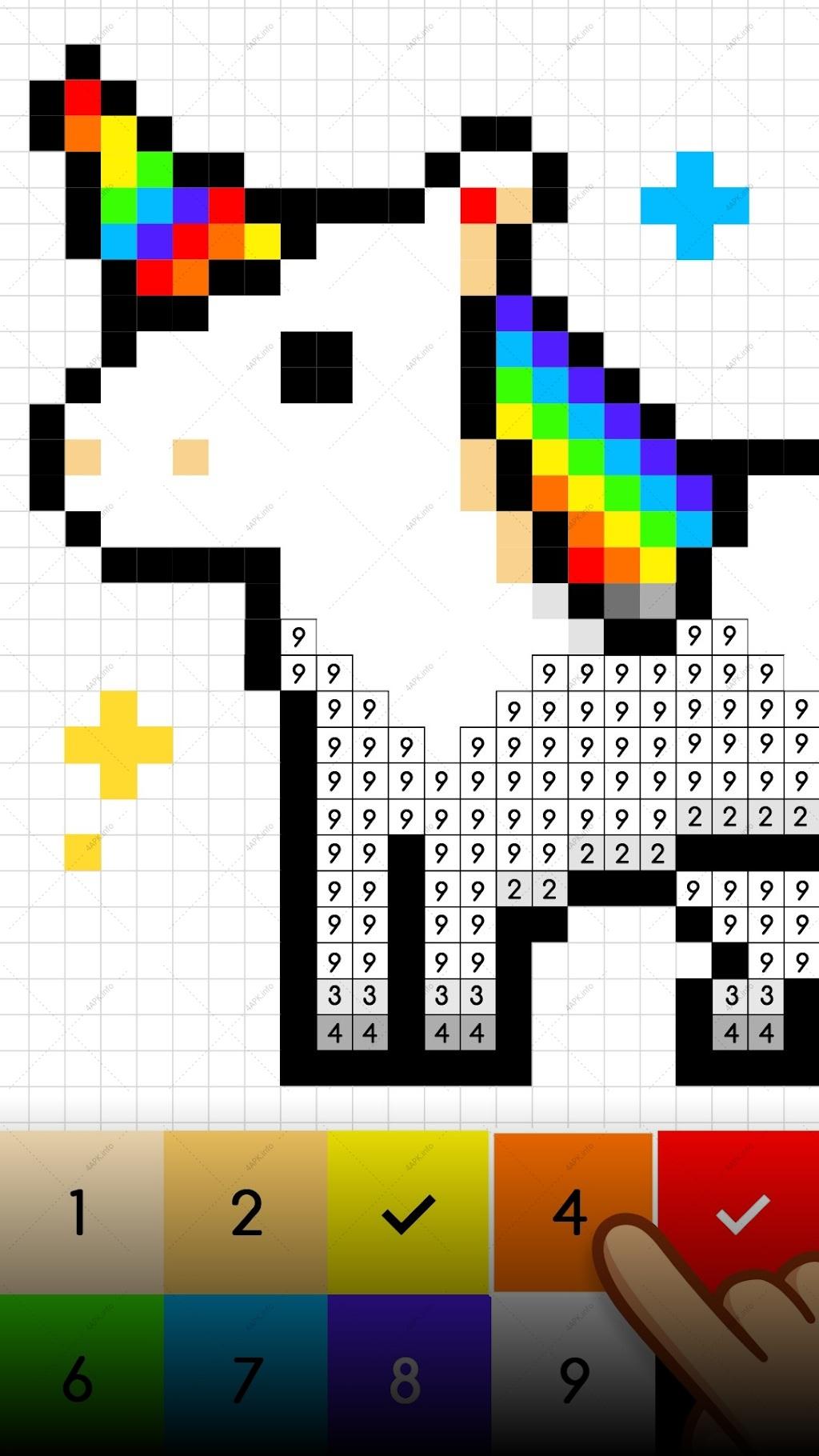 No.Color – Цвета по номеру screenshot