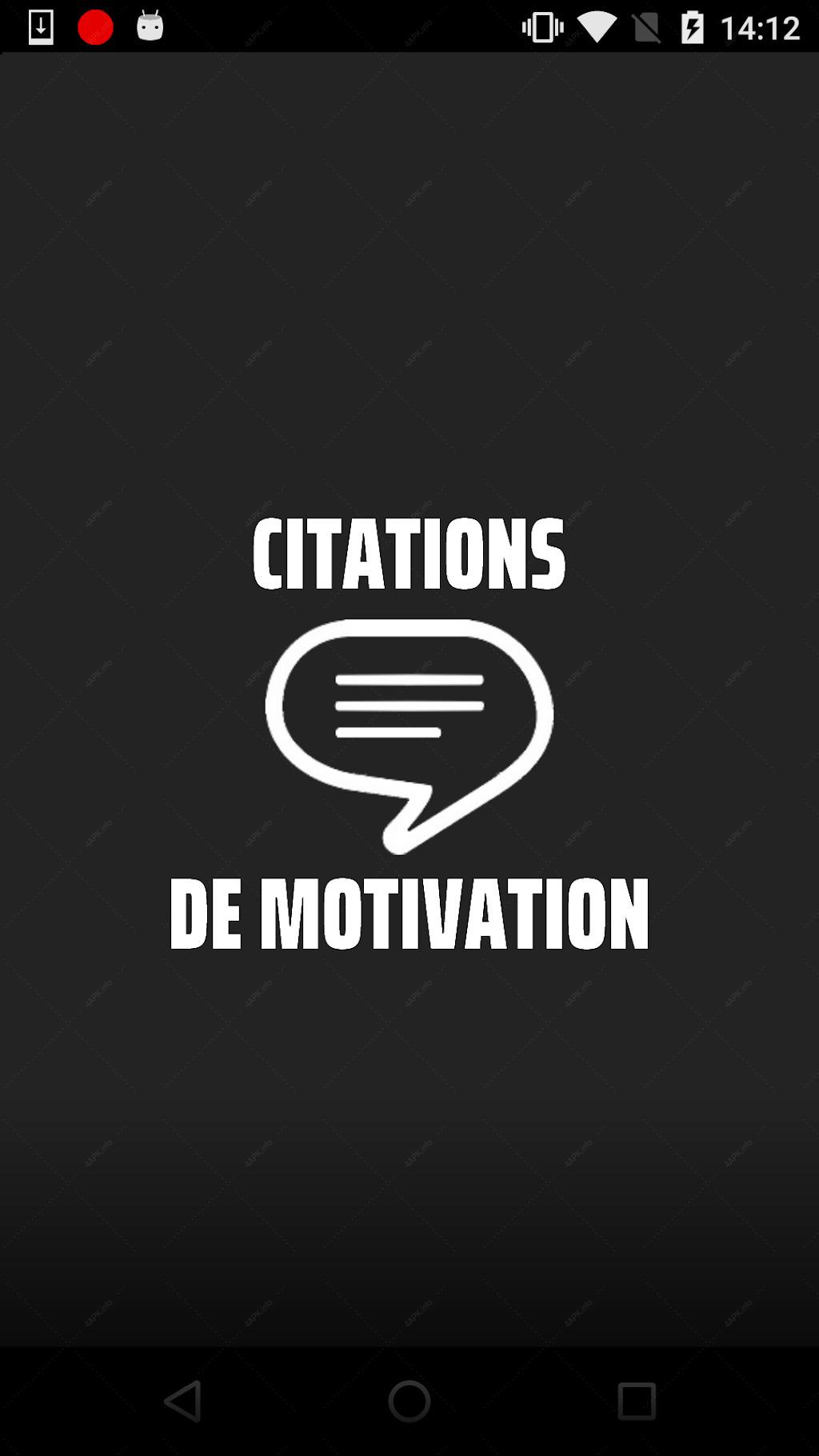 Citations De Motivation En Français приложение V 1 22