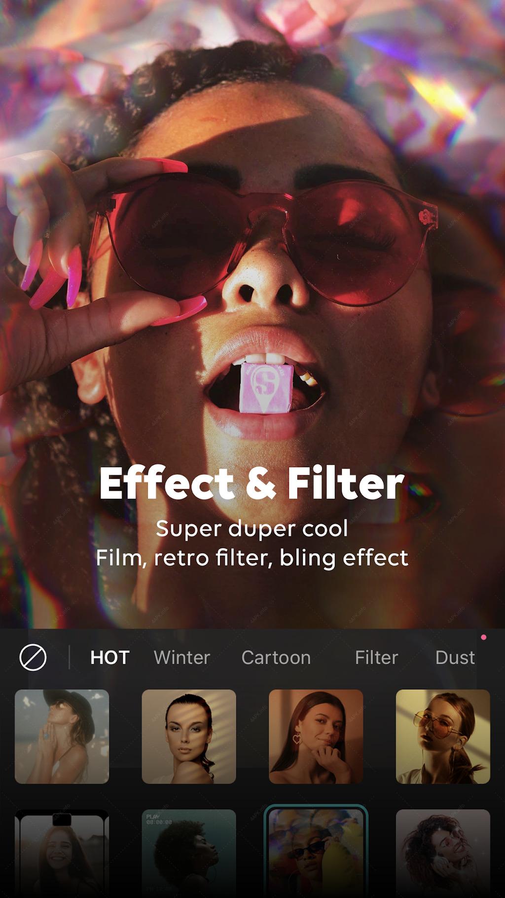 B612 - селфи камера с фильтрами screenshot