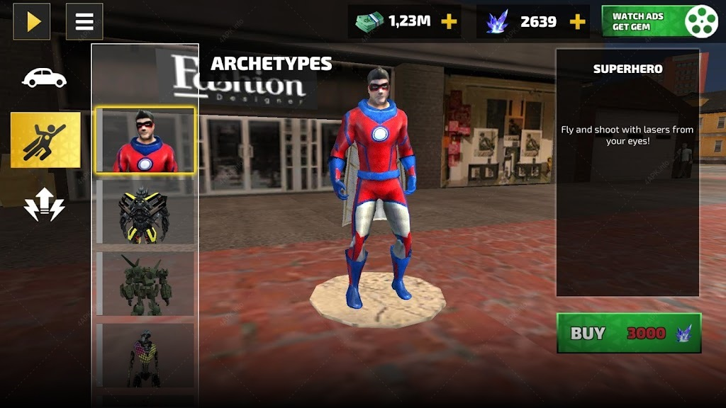 Rope Hero: Vice Town screenshot