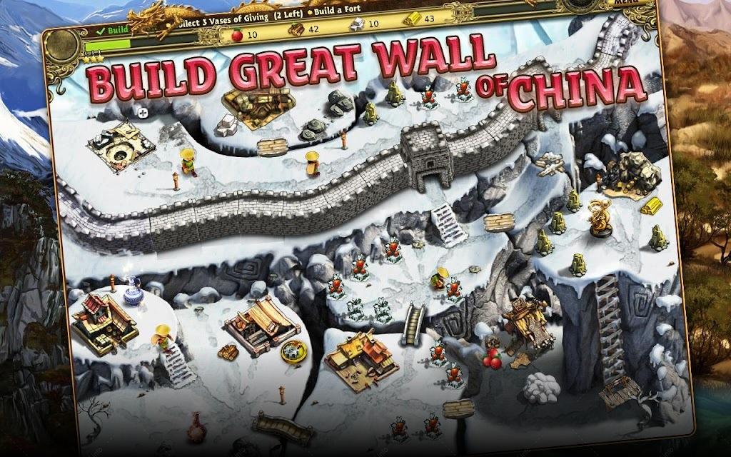 Строим Великую Китайскую Стену screenshot