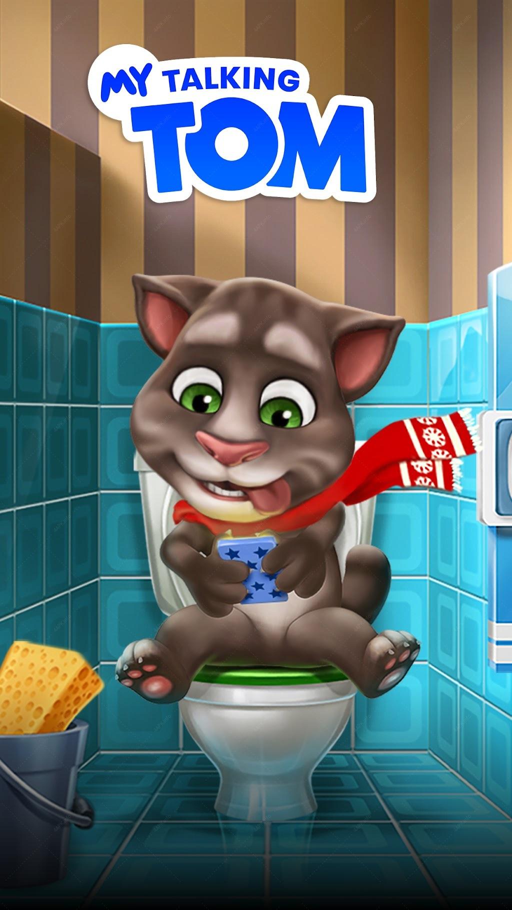 Мой Говорящий Том screenshot