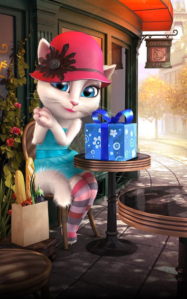 Говорящая Анджела screenshot