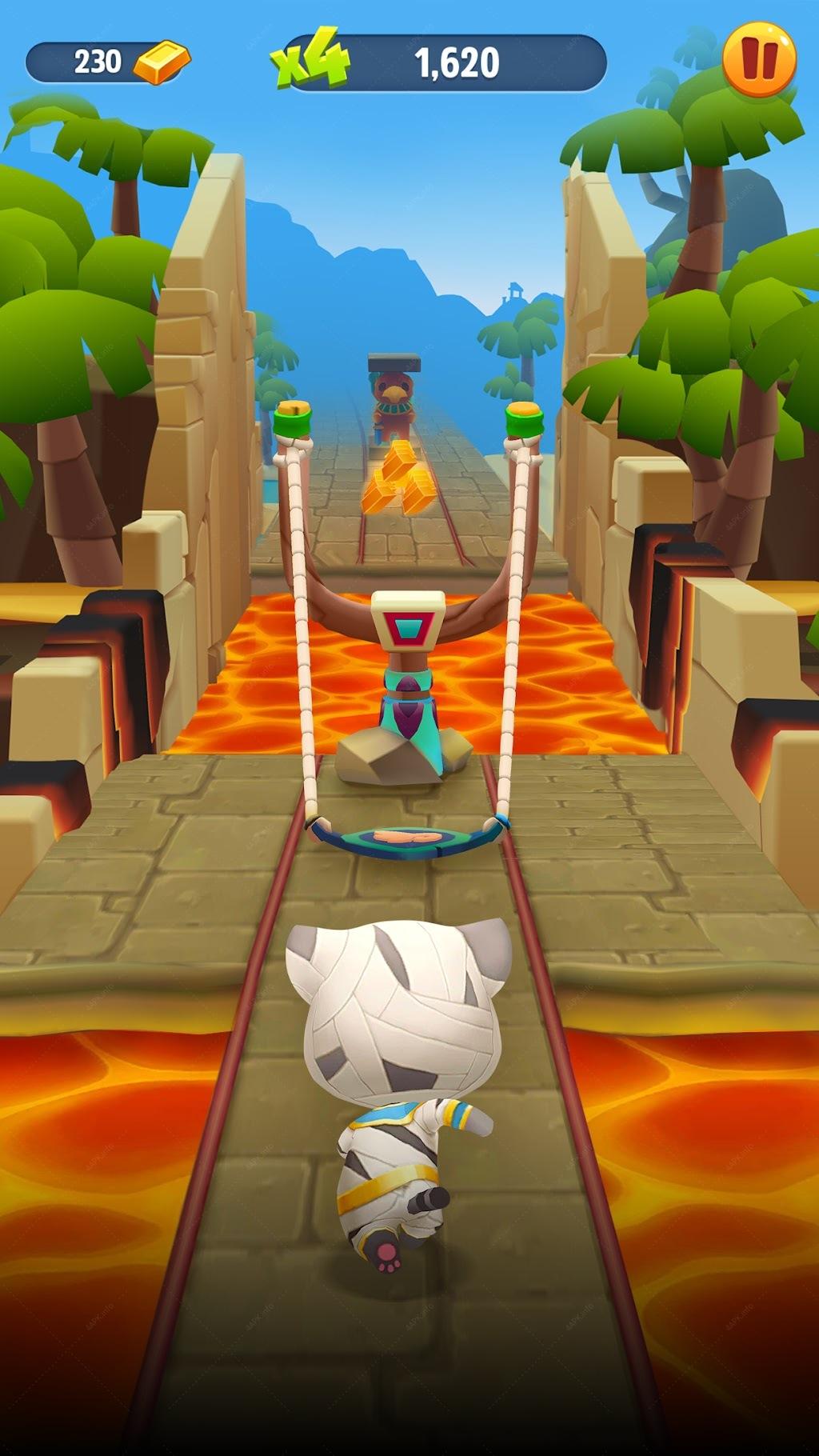 Говорящий Том: бег за золотом screenshot