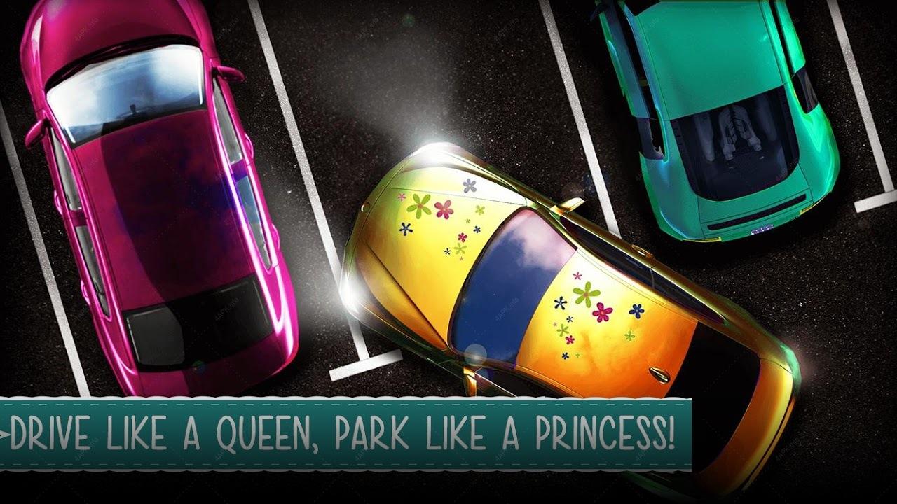 Вождение & парковка девочек 3D screenshot