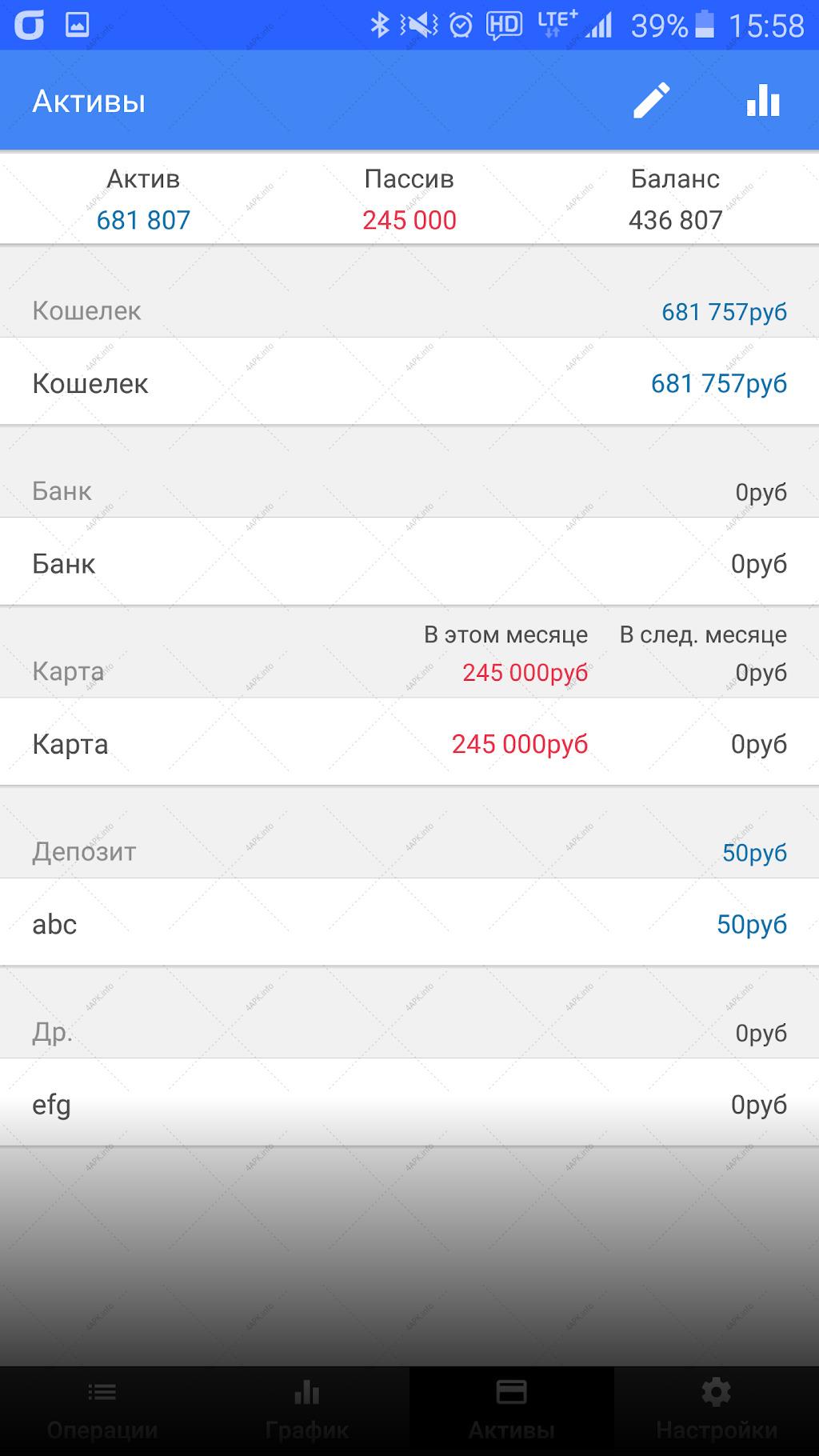 Money Manager screenshot