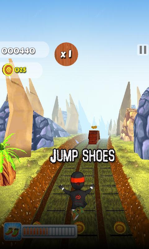 Subway Run Ninja Rush screenshot