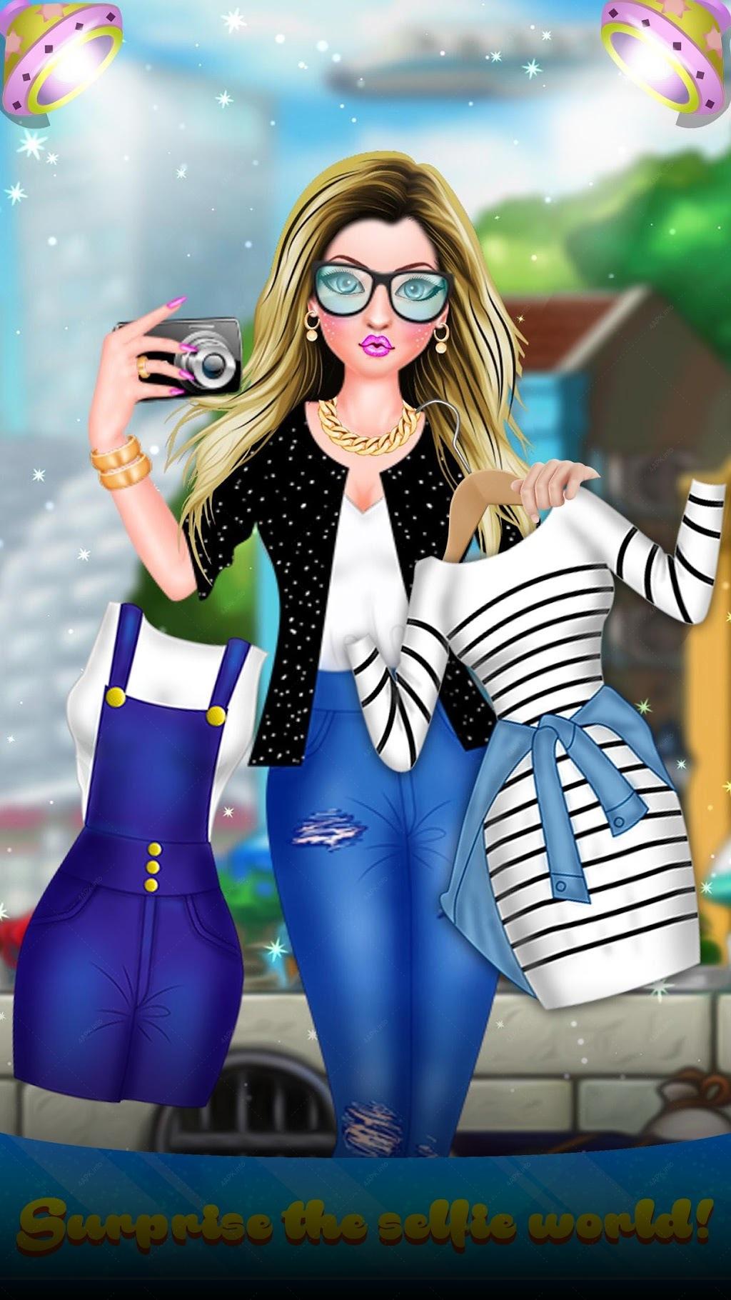 Pout Fashion Doll - Selfie Girl Beauty Salon screenshot