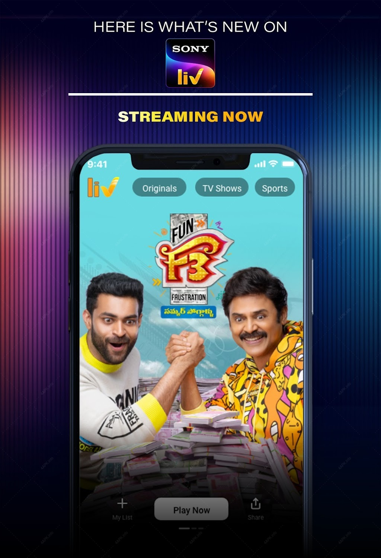 SonyLIV–LIVE Cricket TV Movies screenshot