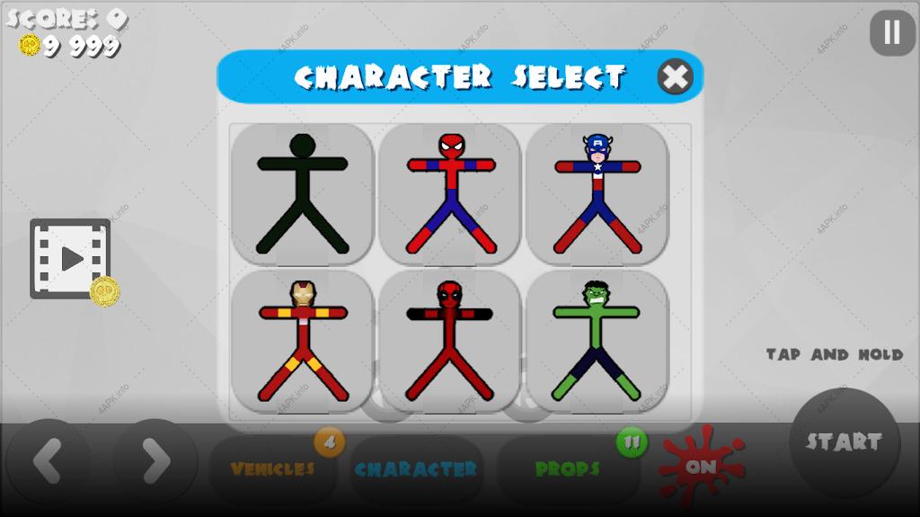 Stickman Destruction 3 Heroes screenshot