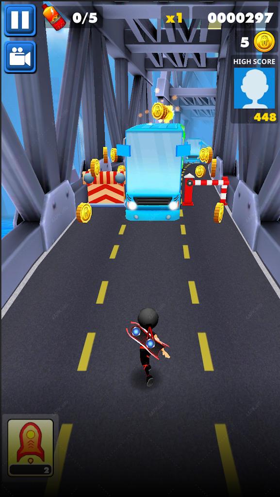 City Runner: Subway Escape screenshot