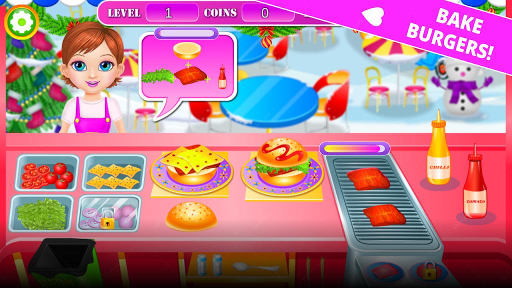 повар еда кухни улицы - приготовление пищи игра screenshot