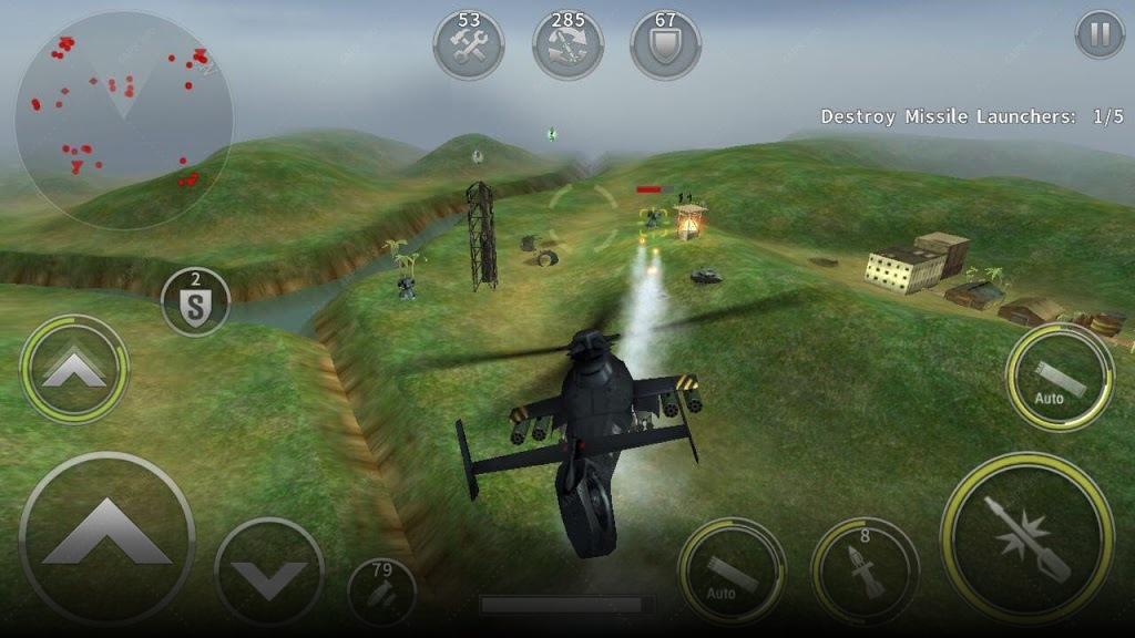 ВЕРТОЛЕТ БИТВА: 3D полет screenshot
