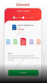 Конвертер PDF (doc ppt xls txt word png jpg wps  ) приложение v