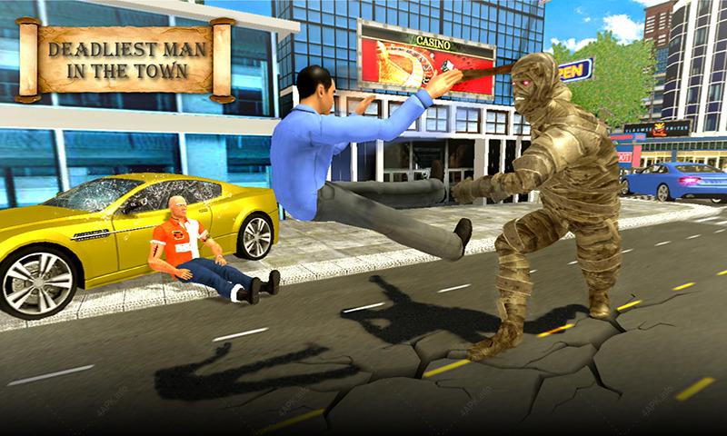 Приключения Мумии: Возвращение к Могиле Короля Ско screenshot