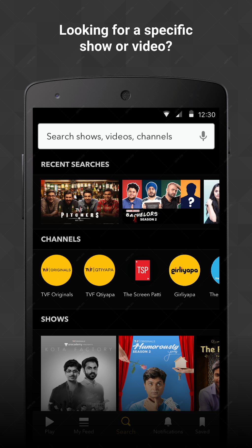 TVFPlay - Лучшее оригинальное онлайн-видео в Индии screenshot