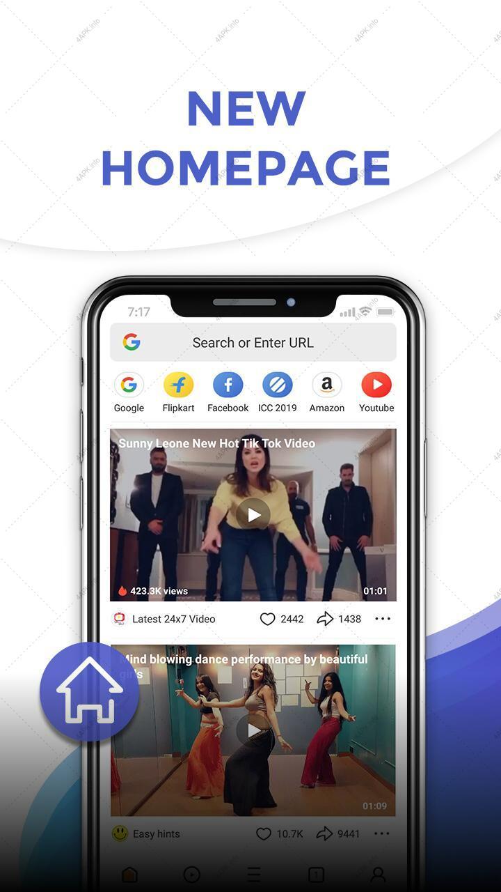 UC браузер Mini - Легкий screenshot