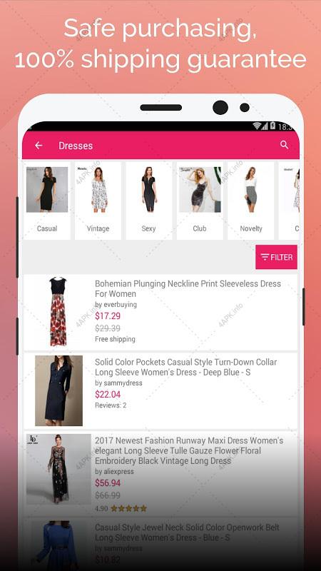 f5dc81b5e628 Дешевая одежда из Китая с бесплатной доставкой приложение v.1.12.0 ...