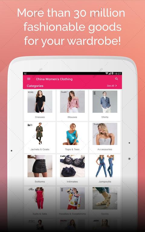 22b79b43d9b8d Дешевая одежда из Китая с бесплатной доставкой приложение v.1.12.0 ...