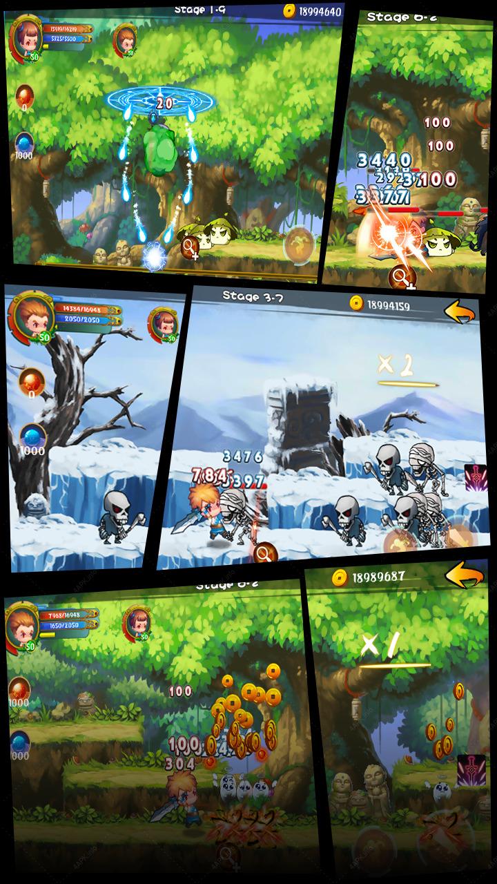 Воин Душ - Боевое приключение игра v 2 4 скачать APK для Android
