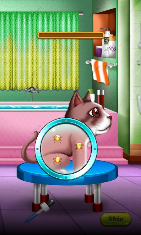 мыть лечить домашних животных screenshot