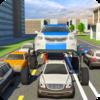 Игра -  поднятый Автомобиль Вождение