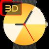 Приложение -  Weareal - Живые 3D Циферблаты