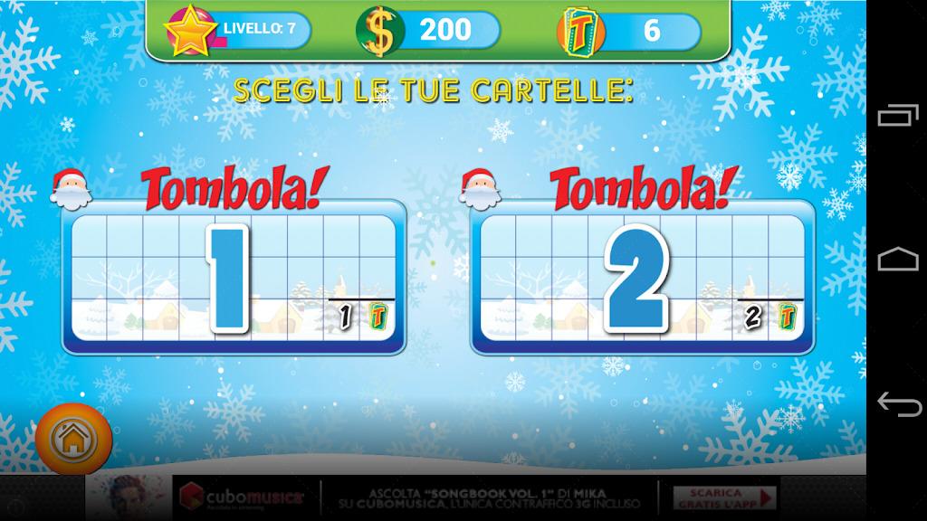 Tombola screenshot