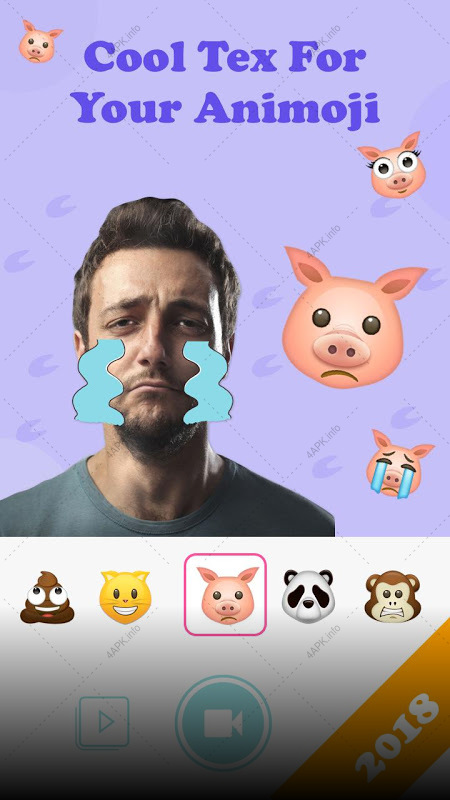 Анимоджи: Live Emoji Face Swap Emoticon приложение v 1 3 6