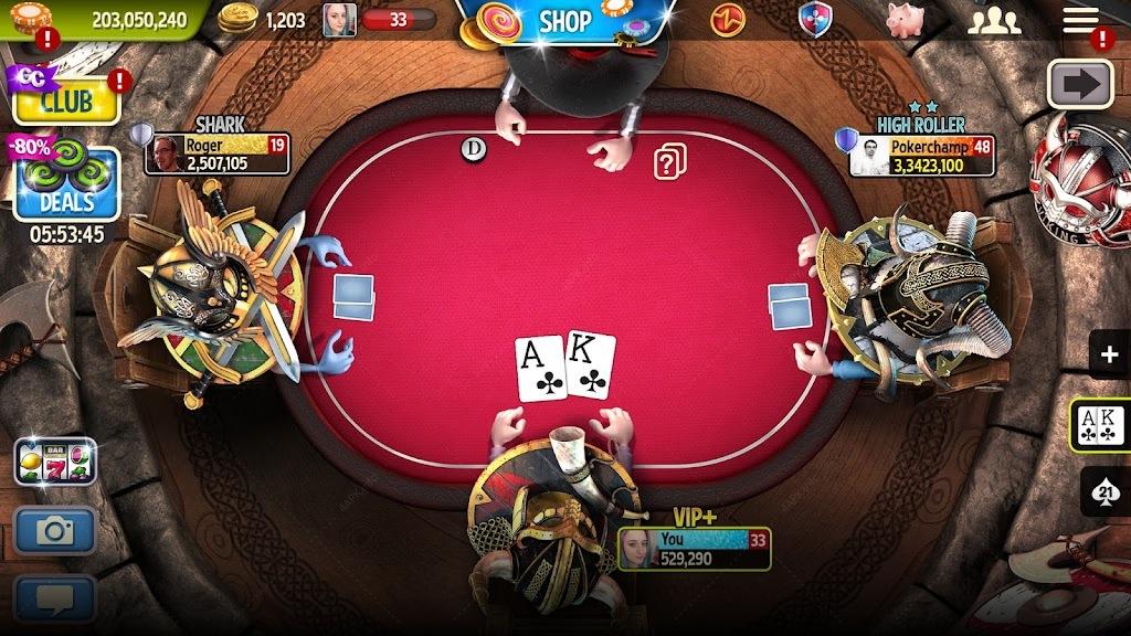 Губернатор Покера 3 - ТЕХАС ХОЛДЕМ ПОКЕР БЕСПЛАТНО screenshot