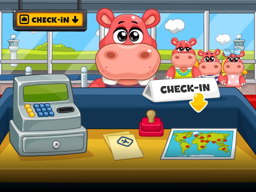 Приключения в аэропорту screenshot