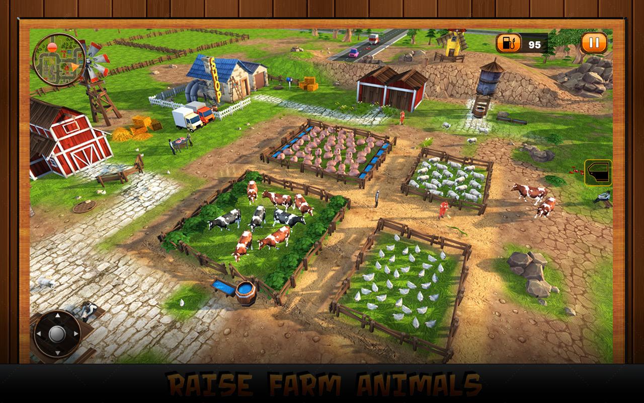 Бесплатная игра счастливая ферма