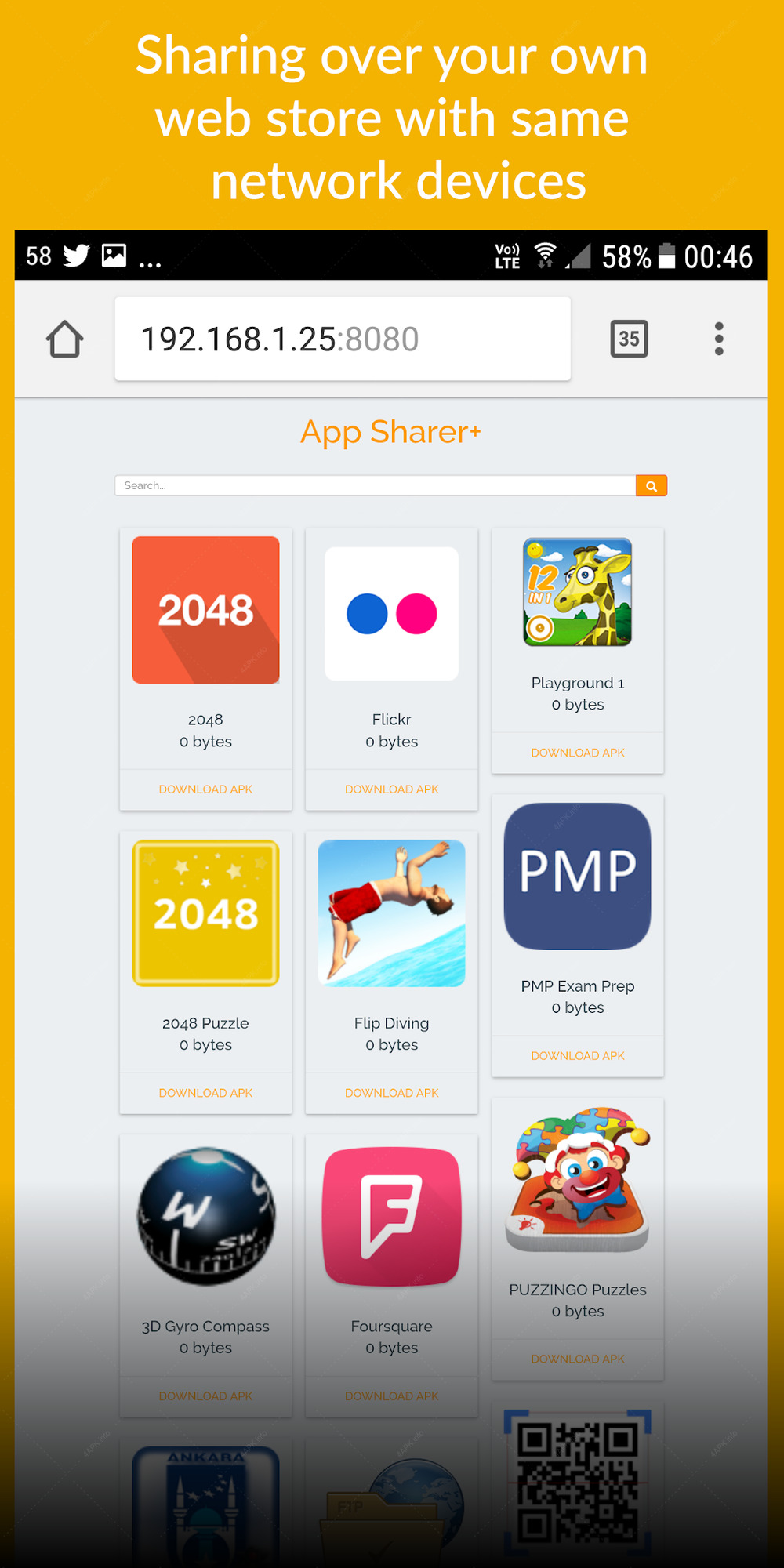 App Sharer+ screenshot