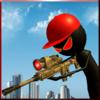 Игра -  Злой Стик Снайпер пистолета