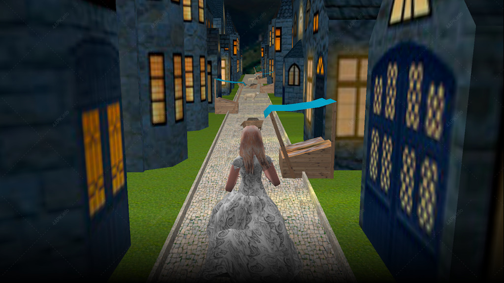 Золушка. Бесплатный 3D раннер. screenshot