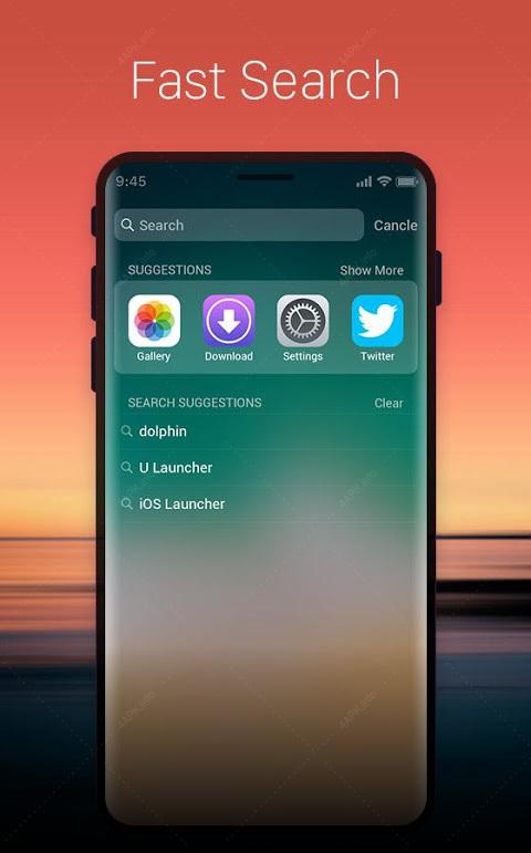 Launcher для OS11:стильная тема для нового Phone X screenshot