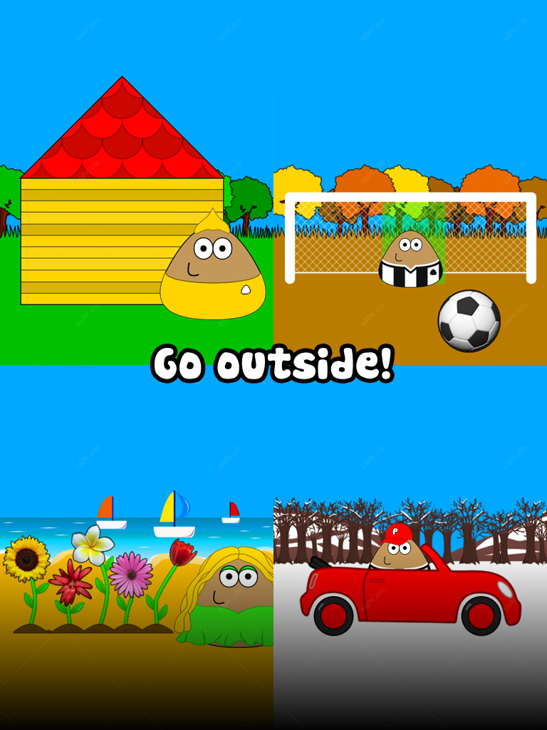 Pou: какашка screenshot