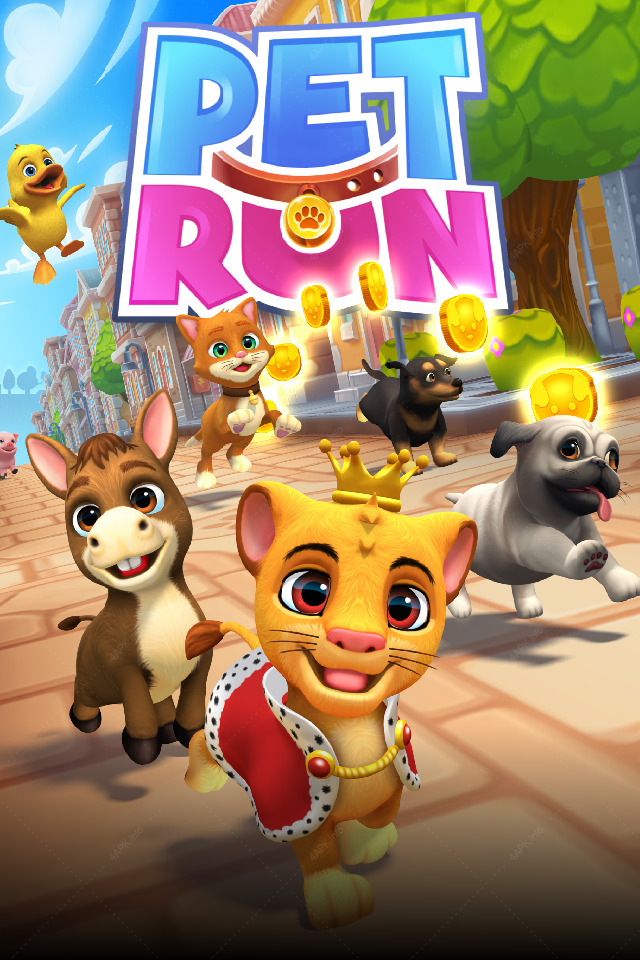 Pet Run - Puppy Dog Game screenshot