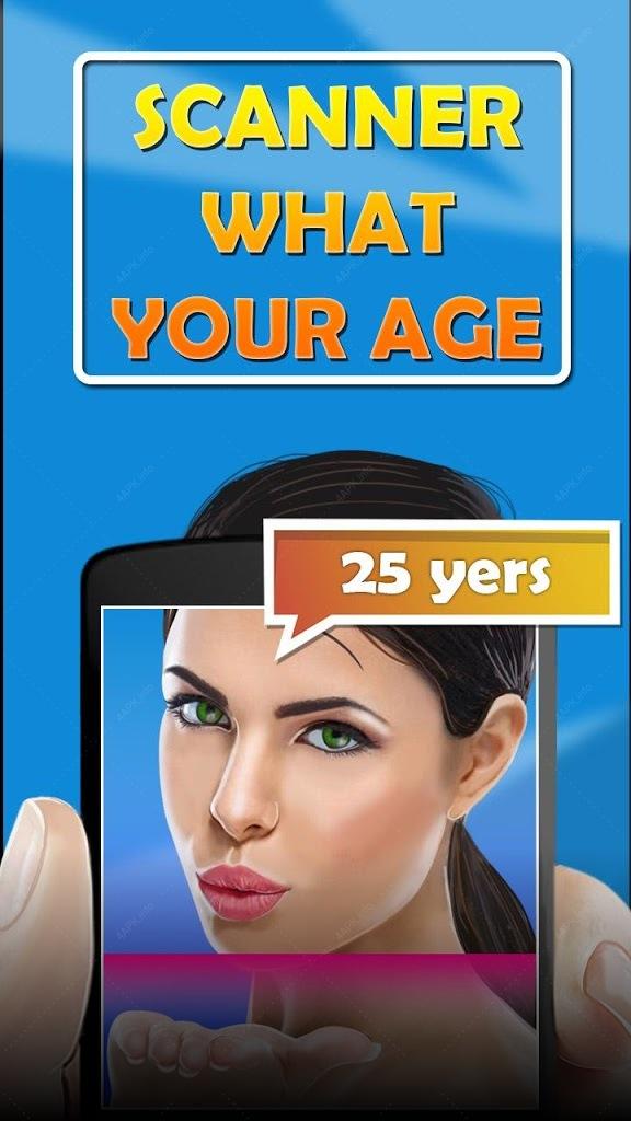 Сканер Какой Твой Возраст Шутк screenshot